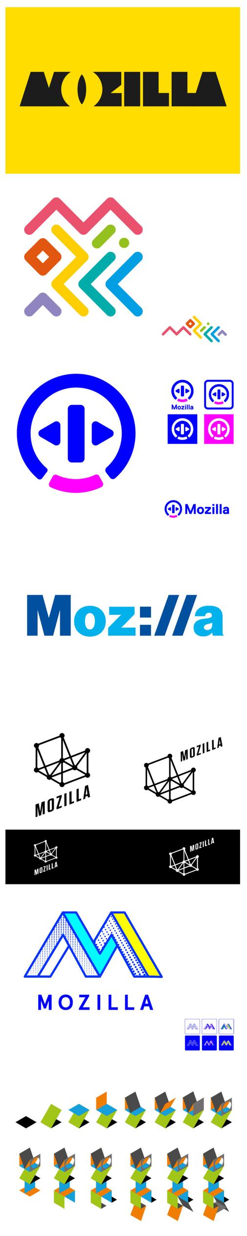 Nieuwe huisstijl Mozilla