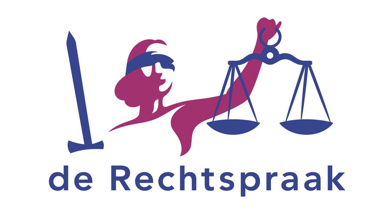 Vrouwe Justitia terug in huisstijl De Rechtspraak